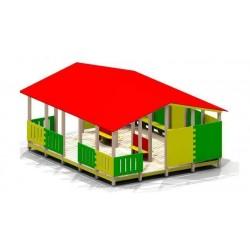 Cabane géante pour enfants