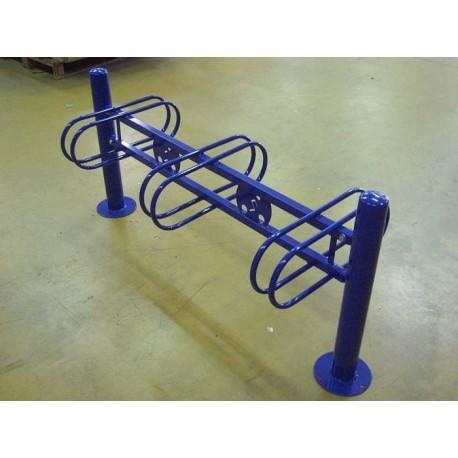 Support cycle acier conique