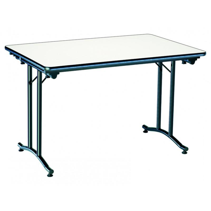 Table pliante 120 x 80 cm pour salles de r union - Table pliante 120 x 60 ...