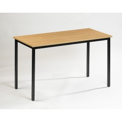 Table de réunion piètement fixe 120 x 80