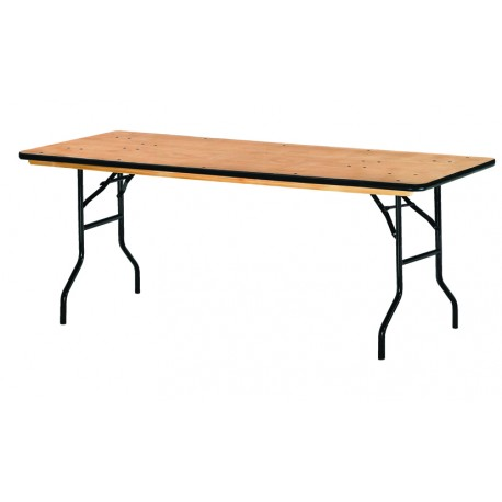 Table pliante 183 x 76 cm multi usages for Table pliante exterieur professionnel