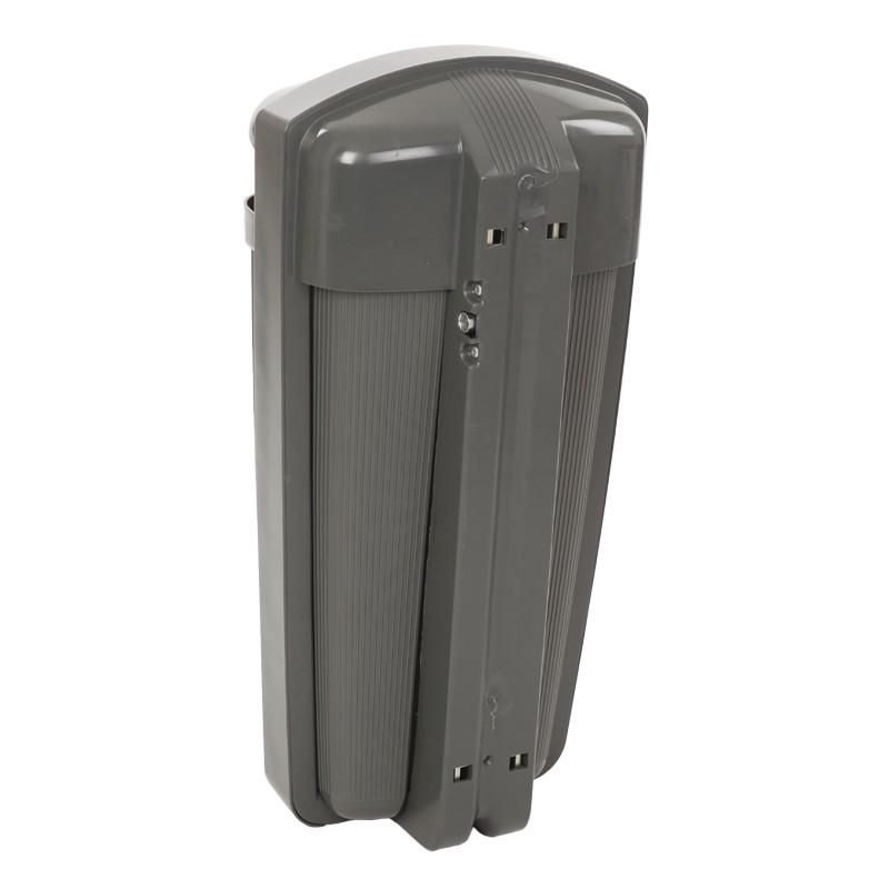 Poubelle cendrier ext rieur combin corbeille cendrier for Poubelle exterieur plastique