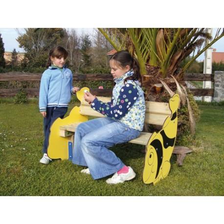 banc enfant poisson entreprise collectivite jeux aires de jeux mobilier urbain mobilier. Black Bedroom Furniture Sets. Home Design Ideas
