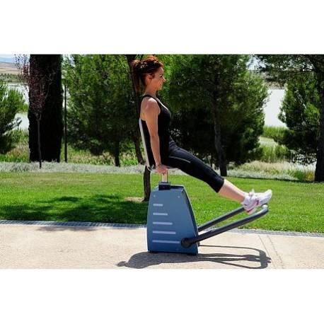 Appareil de musculation type presse jambes for Exterieur gym