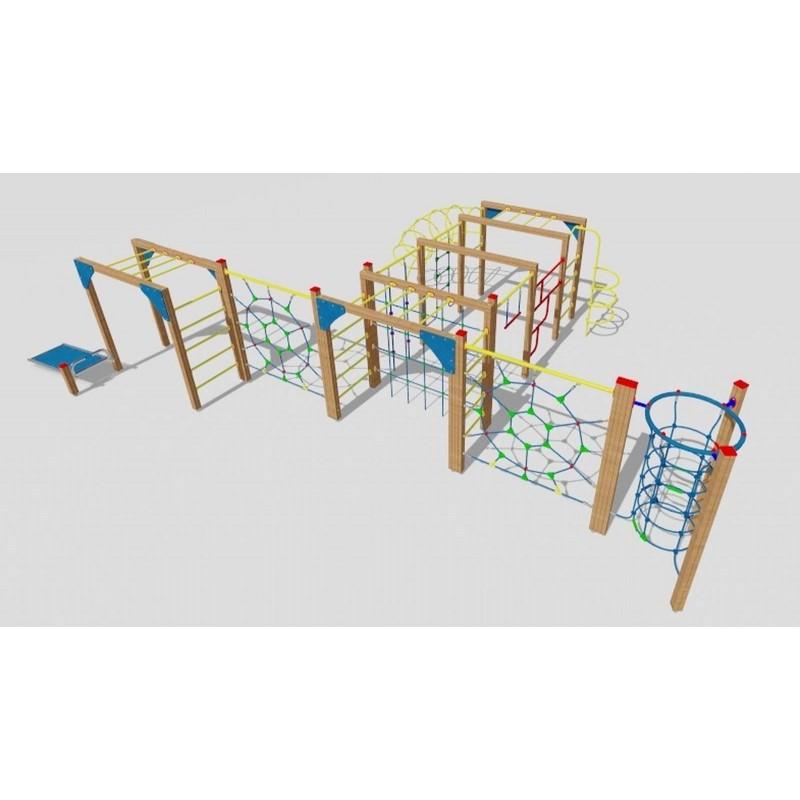aire de jeux pour enfants et adolescents parcours sportif. Black Bedroom Furniture Sets. Home Design Ideas