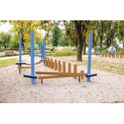 Aire de jeux à grimper pour enfants
