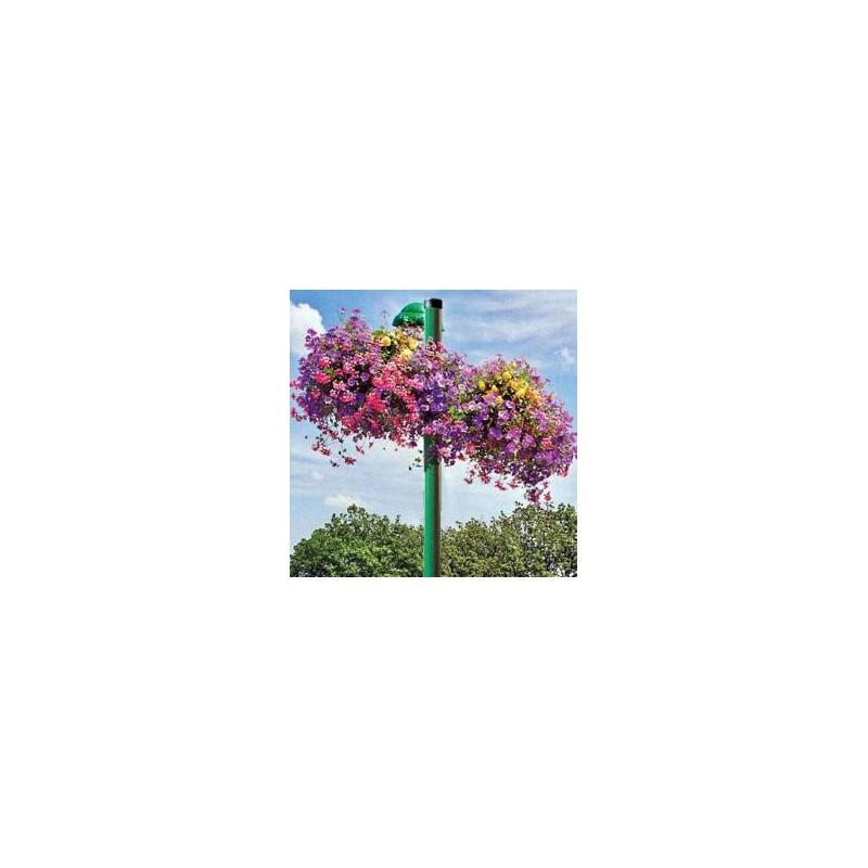 Jardini re sur poteau pour fleurissement a rien - Jardinieres a suspendre ...