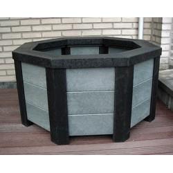jardini re en plastique recycl urbaine entreprise. Black Bedroom Furniture Sets. Home Design Ideas