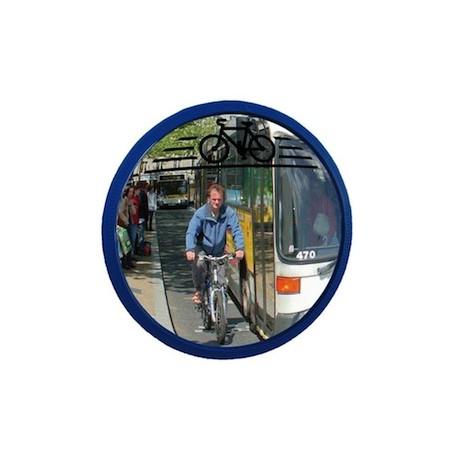Miroir pour piste cyclable