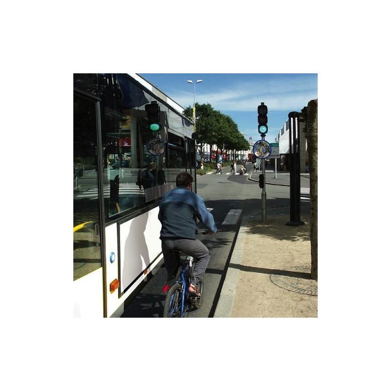 Miroir pour piste cyclable entreprise collectivite jeux for Miroir carrefour