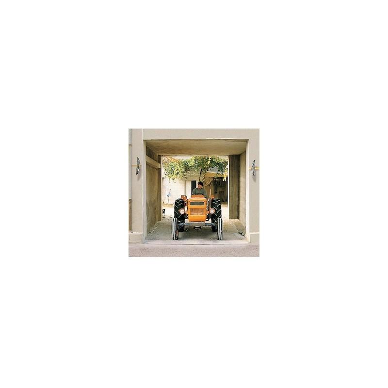 miroir sortie de parking collectivit. Black Bedroom Furniture Sets. Home Design Ideas