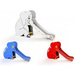 Toboggan éléphant pour enfants de 3 à 14 ans