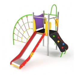 Plateforme toboggan pour enfants de 3 à 14 ans
