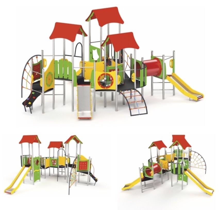 aire de jeux en bois pour particulier portique aire de jeux petit en bois cirque et balancoire. Black Bedroom Furniture Sets. Home Design Ideas