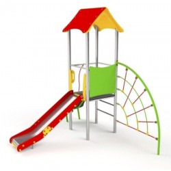 Grand toboggan pour enfants de 3 à 14 ans
