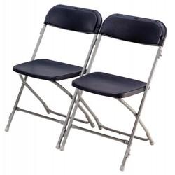 Chaise pliante pour collectivité