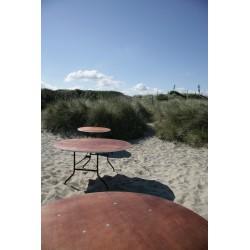 Table ronde pliante