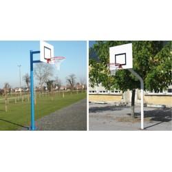 But de basket pour l'entrainement (tube rond)