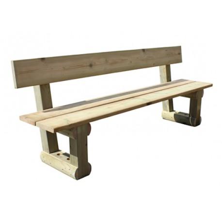 banc forestier banc rustique en bois banc rustique banc en bois. Black Bedroom Furniture Sets. Home Design Ideas