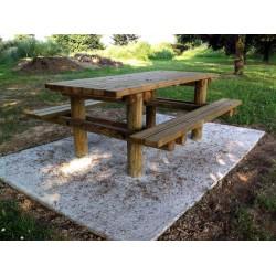 Table pique-nique des forêts