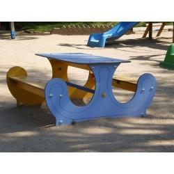 Table pique-nique pour enfants de 0 à 7 ans