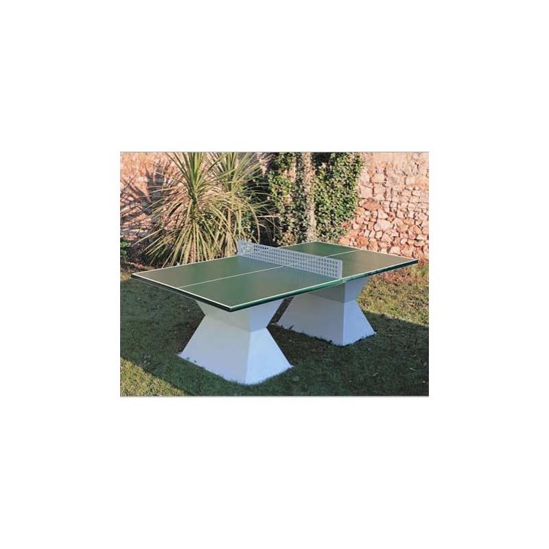 Table de ping pong en mat riaux composites table de ping for Ping pong exterieur
