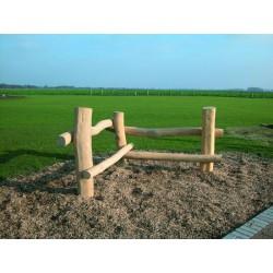 Bancs des jeunes en bois de robinier