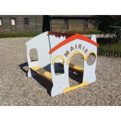 Cabane MAIRIE (pour enfants de 1 à 4 ans)