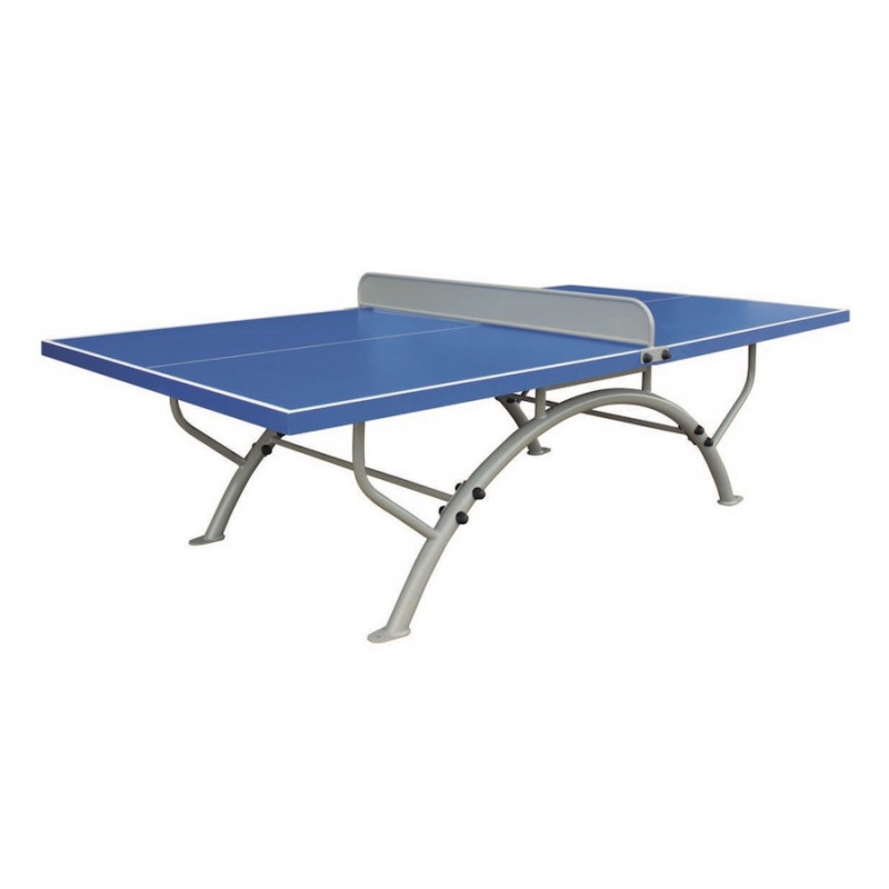 table de ping pong ext rieure fixe entreprise collectivite jeux aires de jeux mobilier. Black Bedroom Furniture Sets. Home Design Ideas