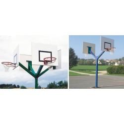 But de basket à double cercles