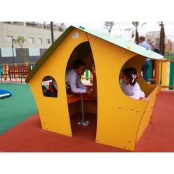 Cabane pour école maternelle