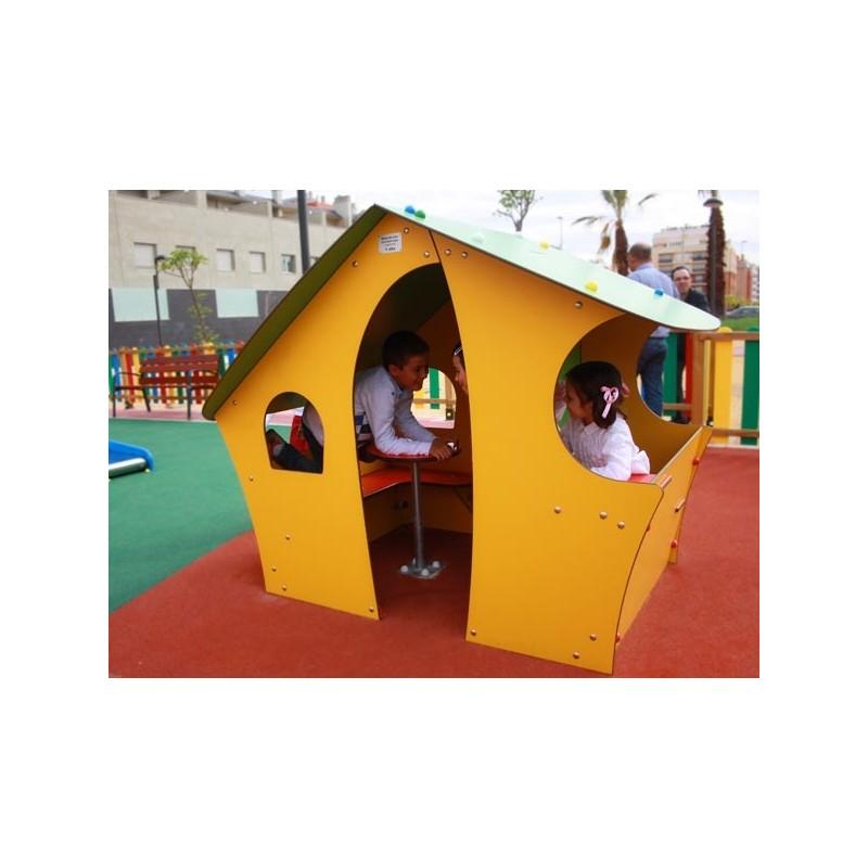 cabane pour cole maternelle entreprise collectivite jeux aires de jeux mobilier urbain. Black Bedroom Furniture Sets. Home Design Ideas