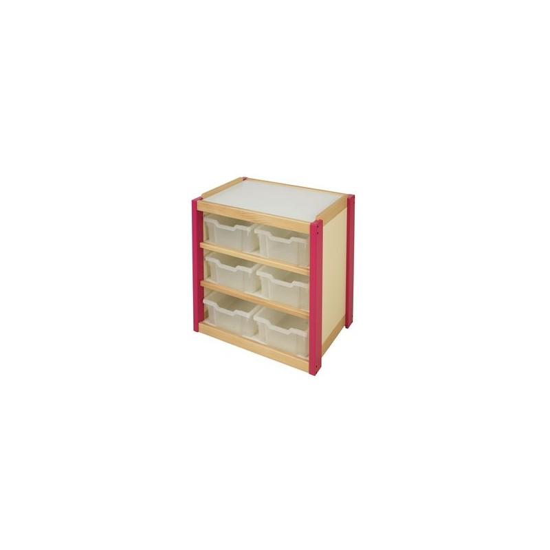 meuble 6 casiers entreprise collectivite jeux aires de