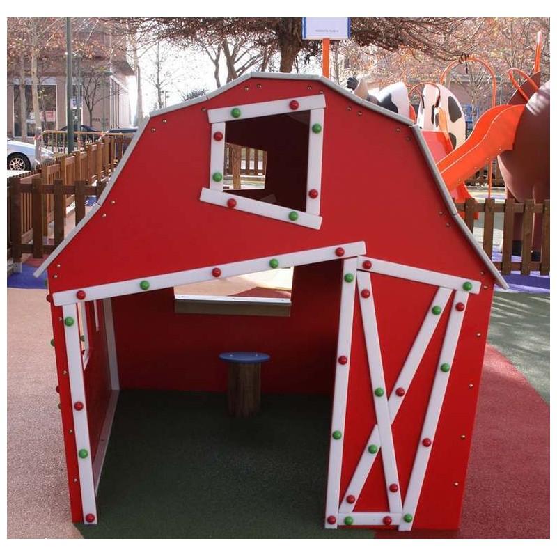 Cabane enfants pour collectivit s cabane parc de jeux for Cabane pour les enfants