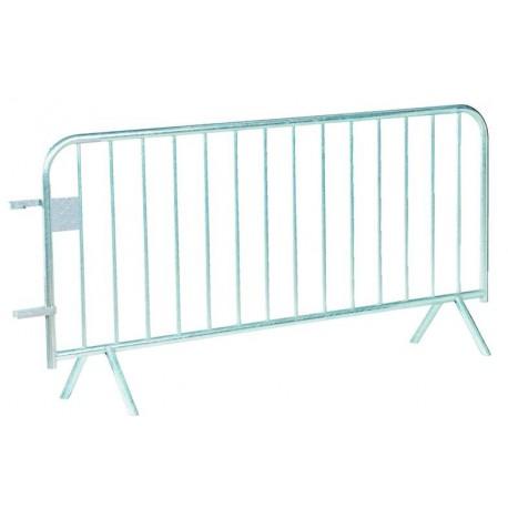 Barrière de police 14 barreaux - Longueur 2 mètres