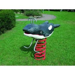 L'orque jeu sur ressort