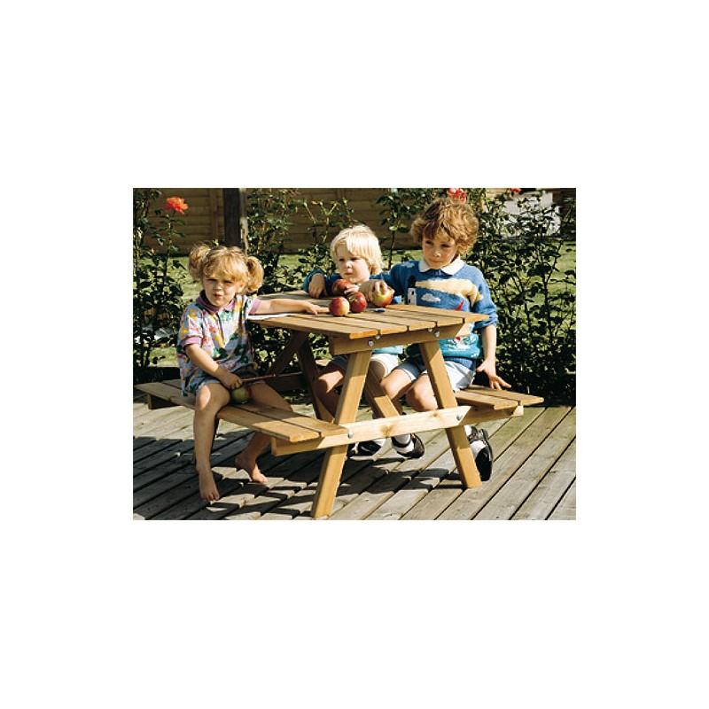 table de pique nique enfants 2 8 ans entreprise collectivite jeux aires de jeux mobilier. Black Bedroom Furniture Sets. Home Design Ideas