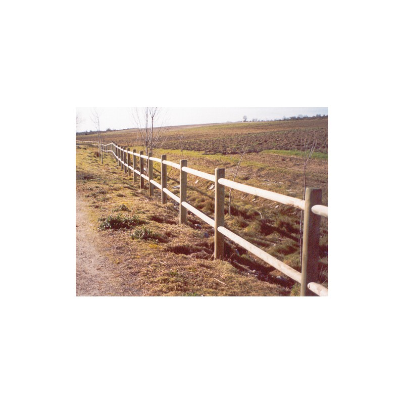 Barrière en bois  EntrepriseCollectivite, Jeux aires de  ~ Barriere En Bois Interieur
