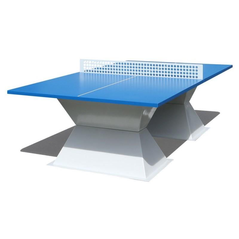 Table de ping pong en mat riaux composites table de ping for Materiaux exterieur