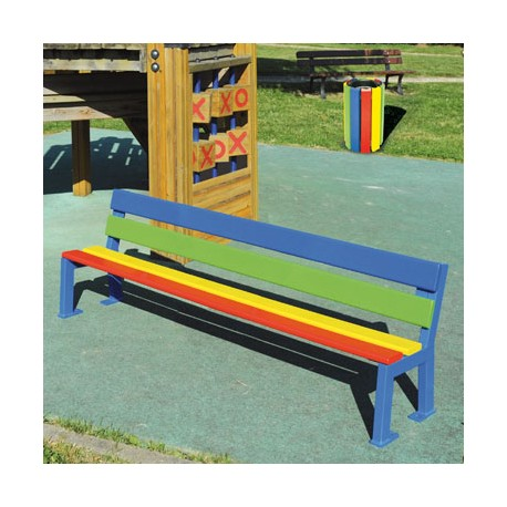 banc pour cole maternelle banc multicolore banc monochrome. Black Bedroom Furniture Sets. Home Design Ideas