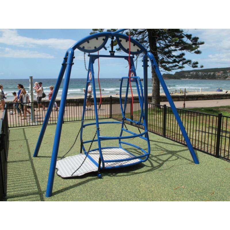 portique balan oire pmr portique balan oire acc s fauteuil roulant. Black Bedroom Furniture Sets. Home Design Ideas