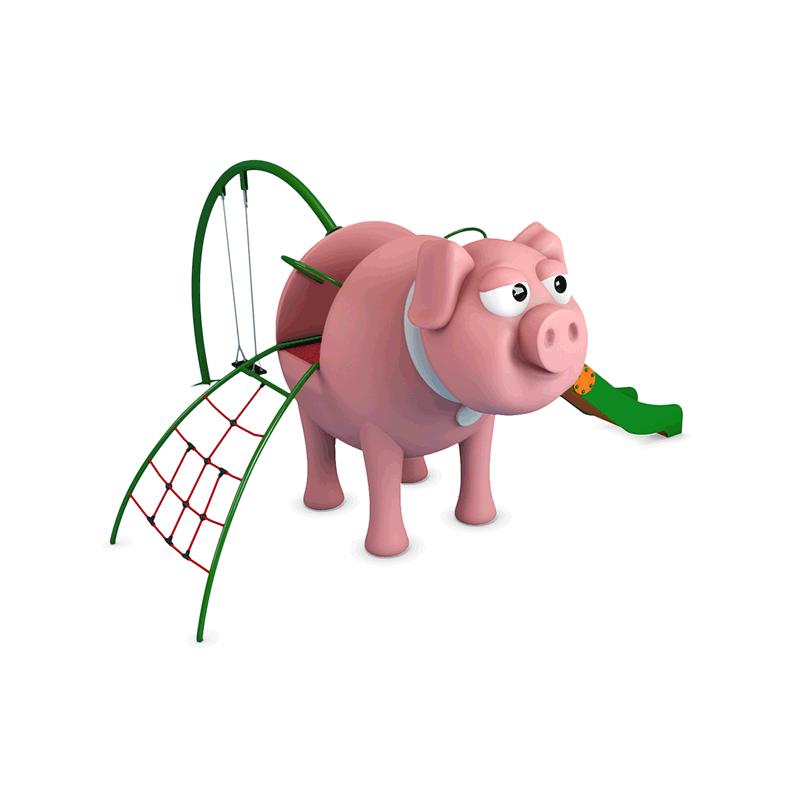 jeux ext rieurs cochon structure de jeux ext rieurs cochon aires de jeux ext rieurs pour parc. Black Bedroom Furniture Sets. Home Design Ideas
