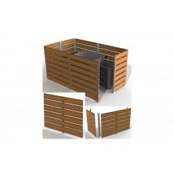 Module (Lg 2m x Ht 1,57m) pour réaliser un cache conteneur