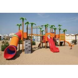 Aires de jeux les palmiers et l'Oasis