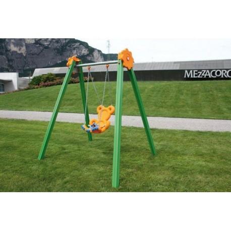 Portique balançoire bébé pour les espaces publics on
