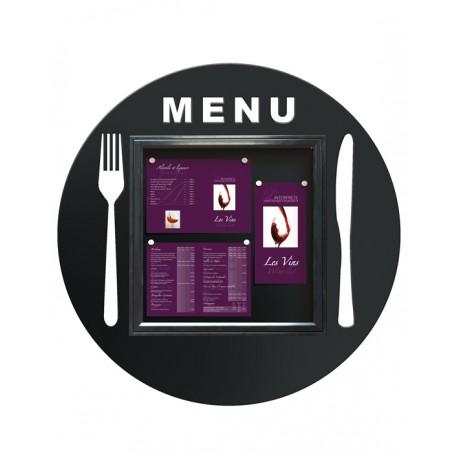 Vitrine pour restaurant