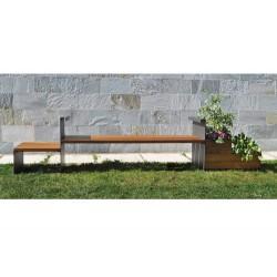 Banc-jardinière