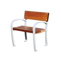 Chaise Aluminium et bois