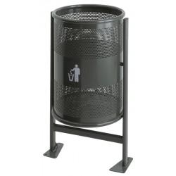 Poubelle de rue 60 litres