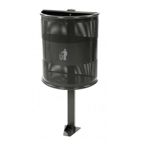 poubelle extérieur 35 L sur poteau